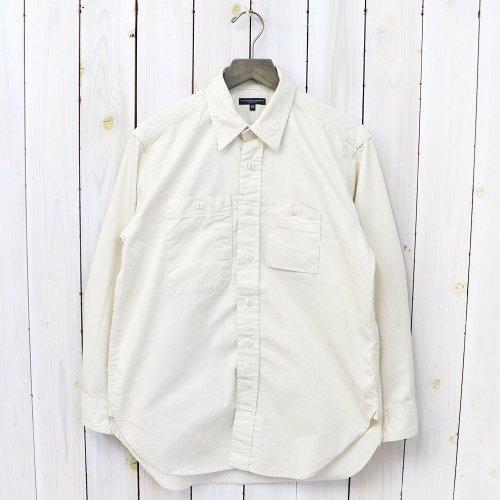 ENGINEERED GARMENTS『Work Shirt-Fineline Twill』(Ivory)