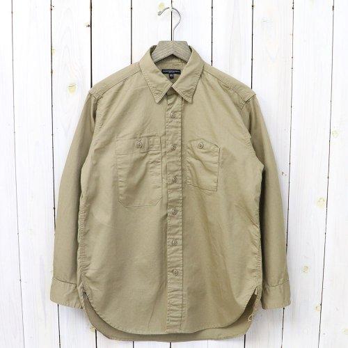 ENGINEERED GARMENTS『Work Shirt-Fineline Twill』(Khaki)