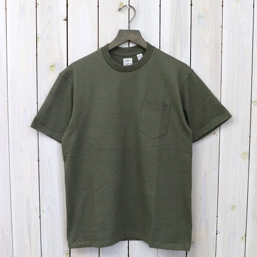 【12/9迄 期間限定20%off】ANATOMICA『POCKET TEE』(Green)