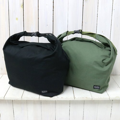 『Cotton Twill Roll Top Bag』