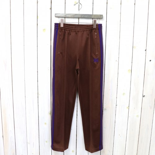 『Track Pant-Poly Smooth』(Brown)