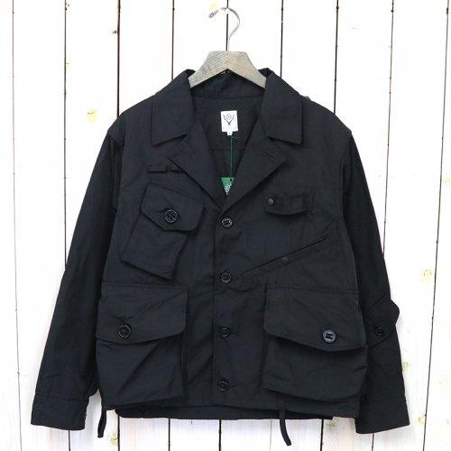 『Tenkara Shirt-Poly Gabardine』(Black)