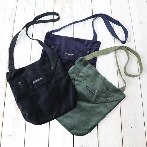 ENGINEERED GARMENTS『Shoulder Pouch-Cotton Velveteen』