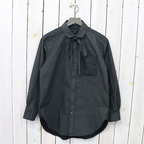 『Rounded Collar Shirt-Mini Foulard』