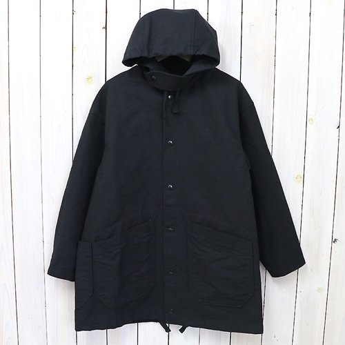 ENGINEERED GARMENTS『Madison Parka-Double Cloth』(Black)