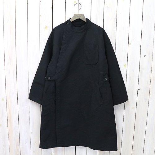 『MG Coat-Double Cloth』(Black)