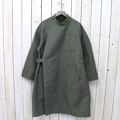 『MG Coat-Double Cloth』(Olive)