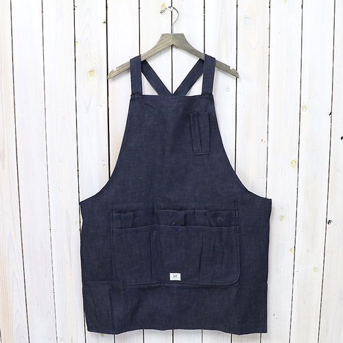 『WHOLE HOLE APRON(8oz DENIM)』(INDIGO)