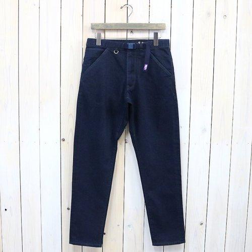『Webbing Belt Denim Pants』(Indigo Black)