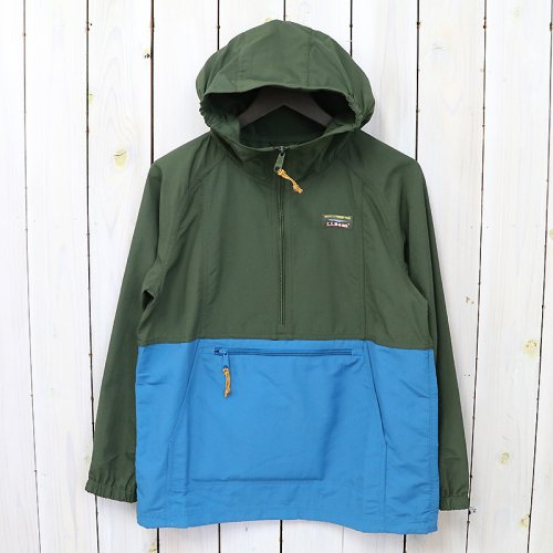 【SALE特価50%off】L.L.Bean『Mountain Classic Anorak-Colorblock-Kid's』(Tuscan Olive/Teal Shadow)