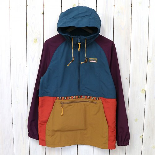『Mountain Classic Anorak-Multi Color』(Deep Admiral Blue/Royal Plum)