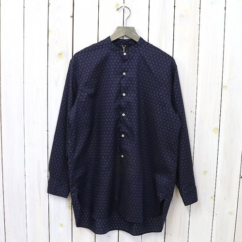 『Band Collar Shirt』(SQUARE DOT)