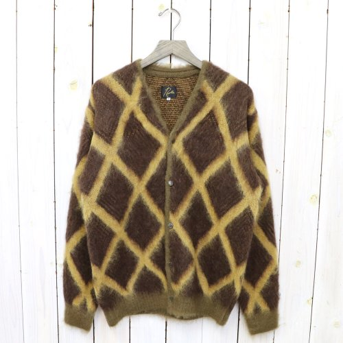 Needles『Mohair Cardigan-Diamond』(Olive)