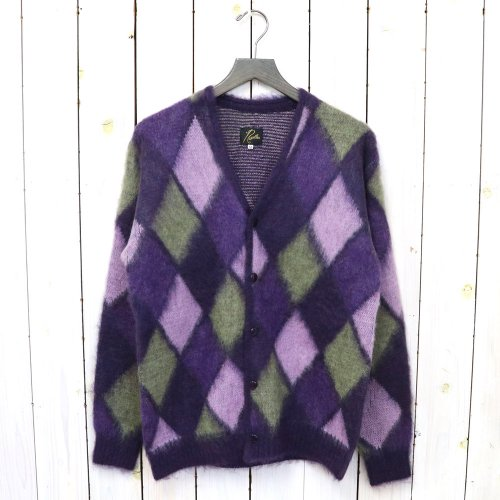 Needles『Mohair Cardigan-Mosaic』(Purple)