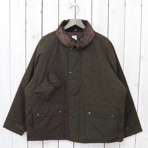 『Carmel Down Jacket-Wax Coating』(Brown)