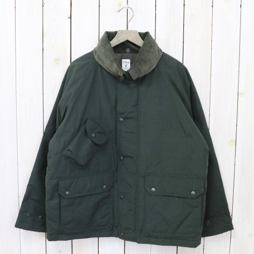 SOUTH2 WEST8『Carmel Down Jacket-Wax Coating』(Green)