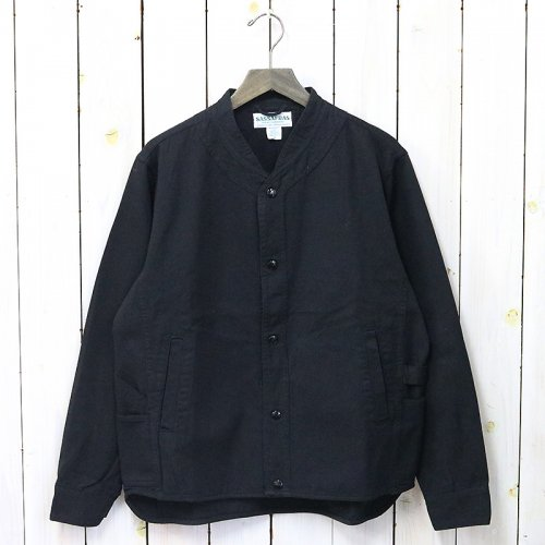 『VASE WALL JACKET(HEATHER STRIPE)』(BLACK)