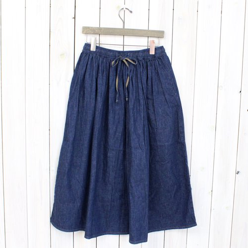 orSlow『GATHER SKIRT』(ONE WASH)