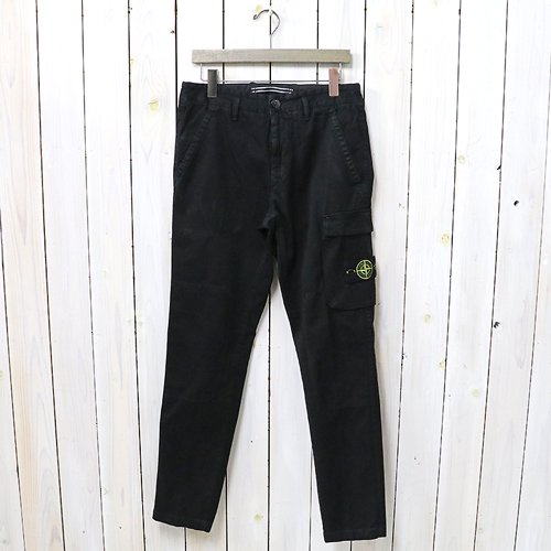 『'OLD' DYE TREATMENT PANTS』(BLACK)