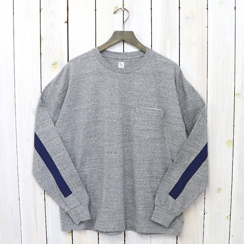 『Weat Coast L/S Tee』(Feather Grey/Navy Line)