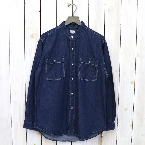 『STAND COLLAR LONG SLEEVE SHIRTS』(ONE WASH)