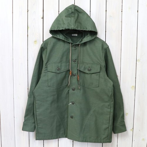 orSlow『US ARMY HOODED SHIRTS JACKET』(ARMY)