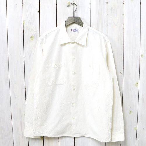 【SALE特価40%off】BUZZ RICKSON'S『WHITE CHAMBRAY WORK SHIRT』(OFF WHITE)