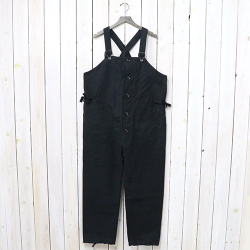 『Overalls-Double Cloth』(Black)