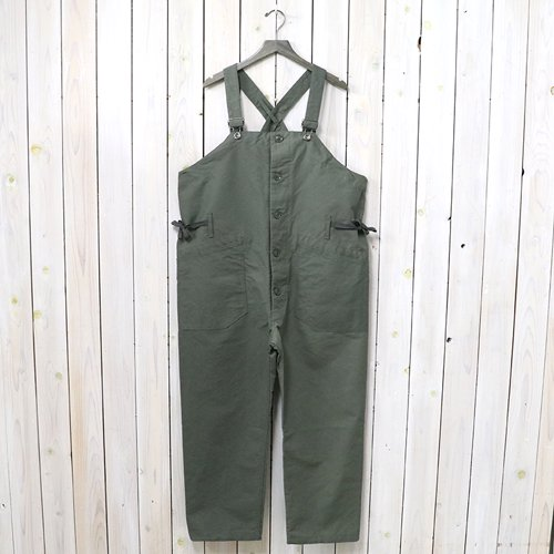 『Overalls-Double Cloth』(Olive)