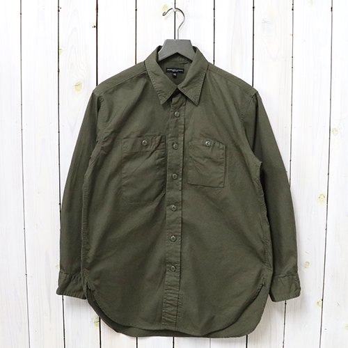 『Work Shirt-Fineline Twill』(Olive)