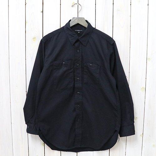『Work Shirt-Fineline Twill』(Dk.Navy)