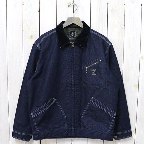 『Lined Work Jacket-Cordura Nylon 11oz Denim』
