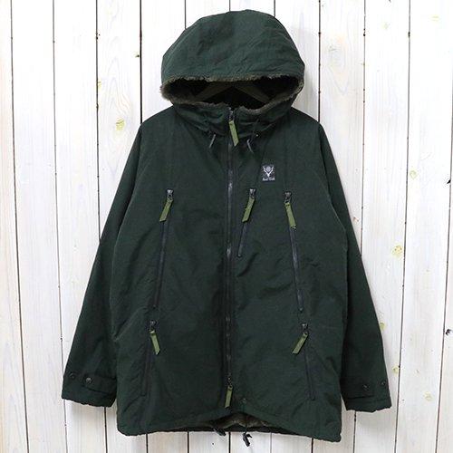SOUTH2 WEST8『Zipped Coat-Wax Coating』(Green)