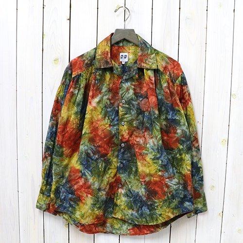 AiE『Painter Shirt-Abstract Print』(Multi Batik)
