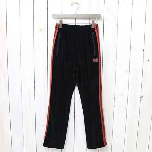 『Narrow Track Pant-C/Pe Velour』(Black)