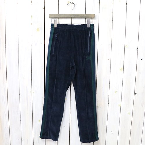 『Narrow Track Pant-C/Pe Velour』(Navy)