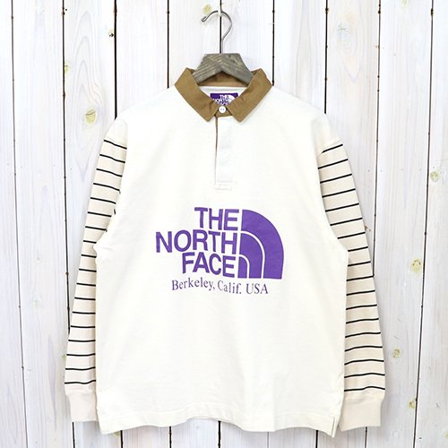 THE NORTH FACE PURPLE LABEL『Rugby Shirt』(Ecru)