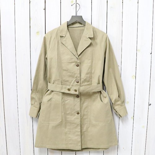 【SALE特価60%off】DEAD STOCK『BRITISH ARMY OVER COAT WOMENS』(BEIGE)