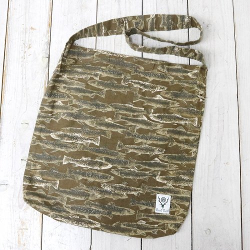 『Book Bag-Printed Flannel/Camouflage』(Trout)