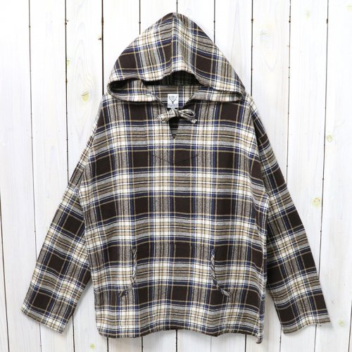 『Mexican Parka-Cotton Twill/Plaid』(Brown)