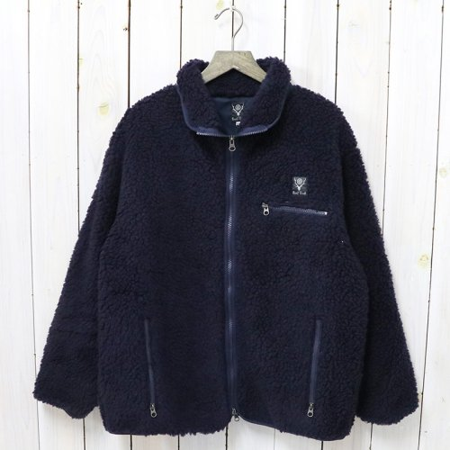 『Piping Jacket-Synthetic Pile』(Navy)