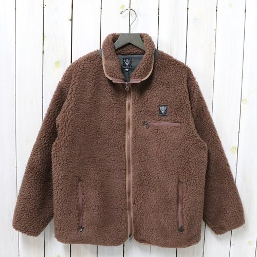 SOUTH2 WEST8『Piping Jacket-Synthetic Pile』(Mocha)