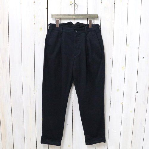 『WP Pant-Wool Cotton Flannel』(Dk.Navy)