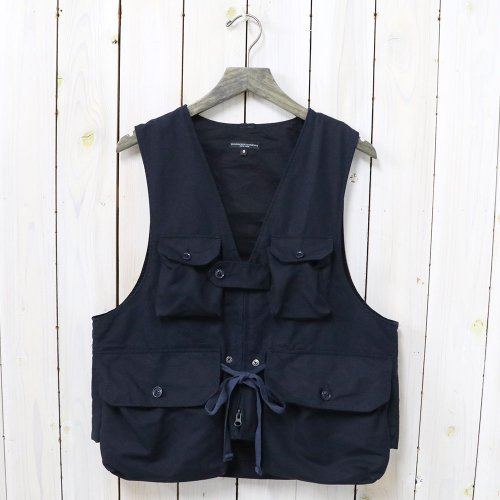 『Game Vest-Double Cloth』(Navy)