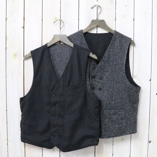 『Reversible Vest-Worsted Chalk St./HB』