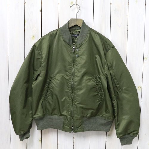 ENGINEERED GARMENTS『Aviator Jacket-Flight Satin Nylon』(Olive)