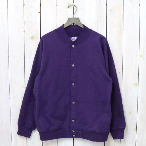 THE NORTH FACE PURPLE LABEL『10oz Mountain Snap Cardigan』(Purple)