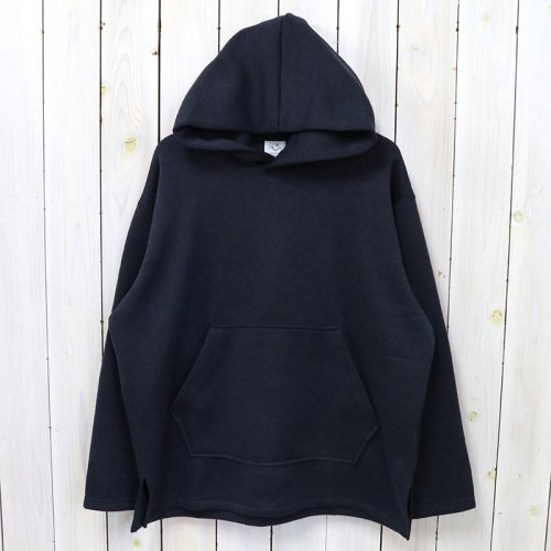 the conspires『inside flannel polyester parka』(navy)