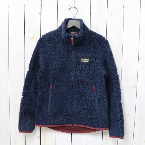 L.L.Bean『Mountain Pile Fleece Jacket』(Nautical Navy)