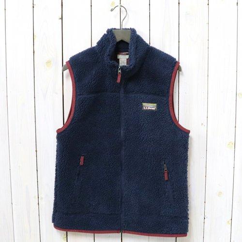 L.L.Bean『Mountain Pile Fleece Vest』(Nautical Navy)